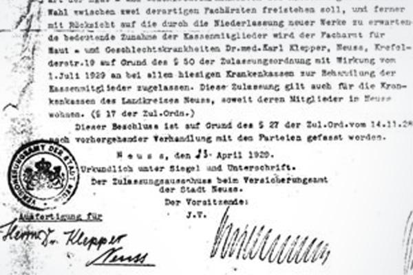 Hautaerzte_klepper_gross_historie_2009